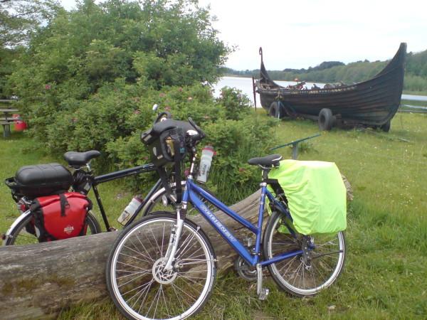 Bild: Alt und Heerweg/Ochsenweg Dänemark Fahrrad Amelix