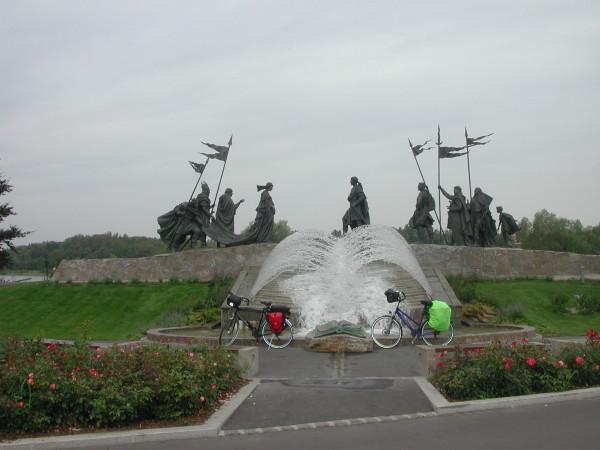 Bild: Donau Radweg Passau Wien Fahrrad Amelix