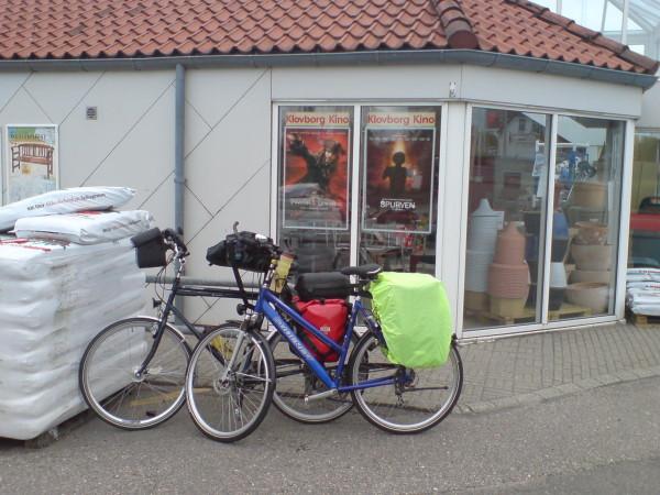 Bild:Dänemark Fahrrad Amelix dem Kobmand in Nörre Snede