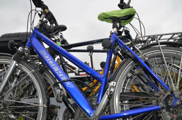 Bild: Abfahrtbereit nach Berlin Fahrrad Amelix