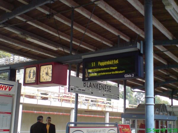 Bild: Bahnhof Blankenese Amelix