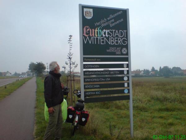 Bild: Fahrrad Elbe Radweg  Lutherstadt Wittenberg Amelix
