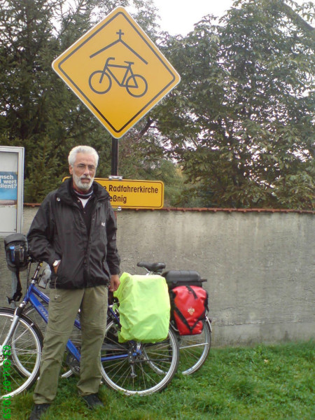 Bild: Fahrrad Elbe Radweg  Fahrradkirche Amelix