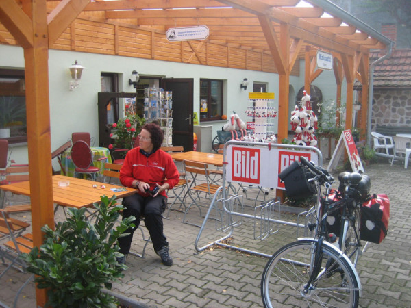 Bild: Elbe Radweg Fahrrad Amelix