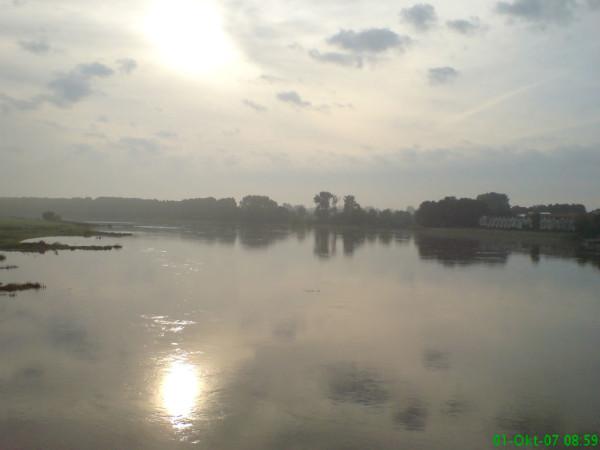 Bild: Morgens in Schönebeck Fahrrad Amelix