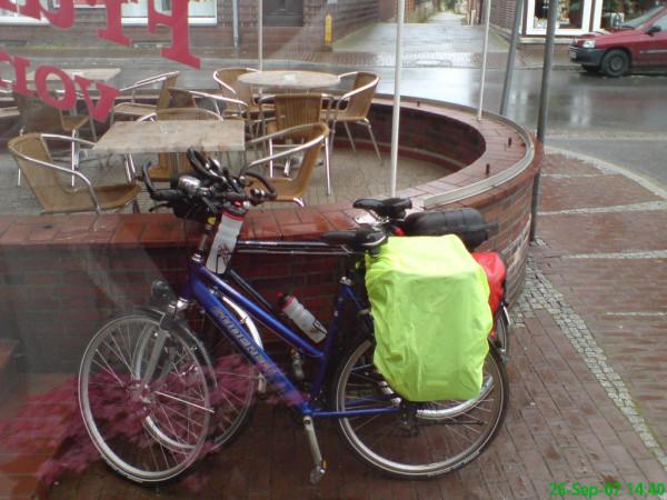 Bild: Regenschauer in Hitzacker Amelix