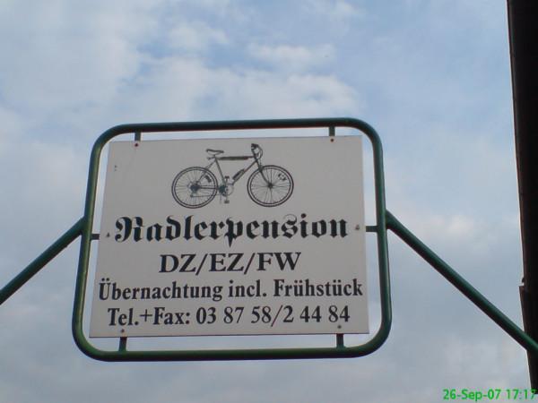 Bild :Radierquartier Dömitz Fahrrad Amelix