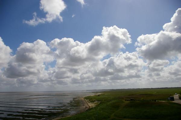 Bild:Wattenmeer bei Keitum Sylt Fahrrad Amelix