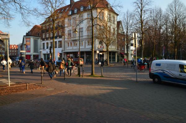 Bild: Promenade Münster Fahrrad Amelix