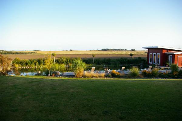 Ausblick aus Hotelzimmer Kap Arkona