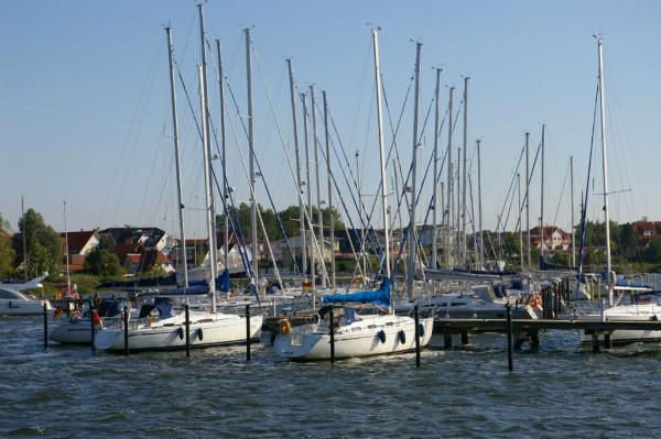 Segelhafen Breege