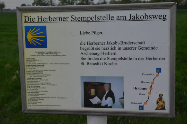 Bild: Jakobsradweg ab Münster Fahrrad Amelix