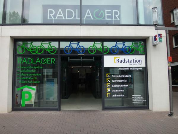 Bild: Radlager Münster Stubengasse Fahrrad Amelix