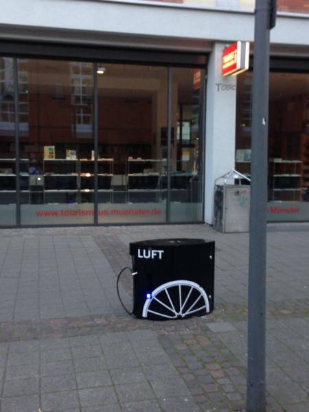 Bild: Fahrrad Tankstelle Münster Amelix