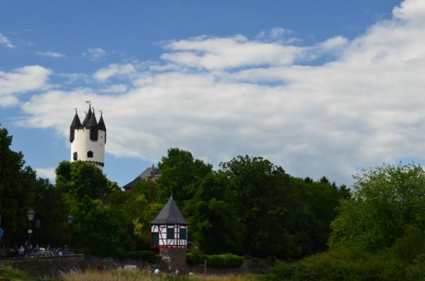 Bild: Steinheim voraus Mainradweg Fahrrad Amelix